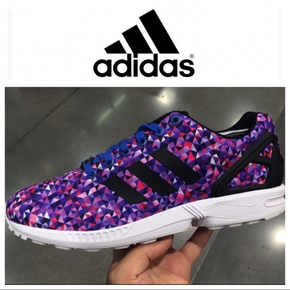 e816bae35 adidas Other - Adidas Shoes Zx Flux Galaxy Purple Prizm